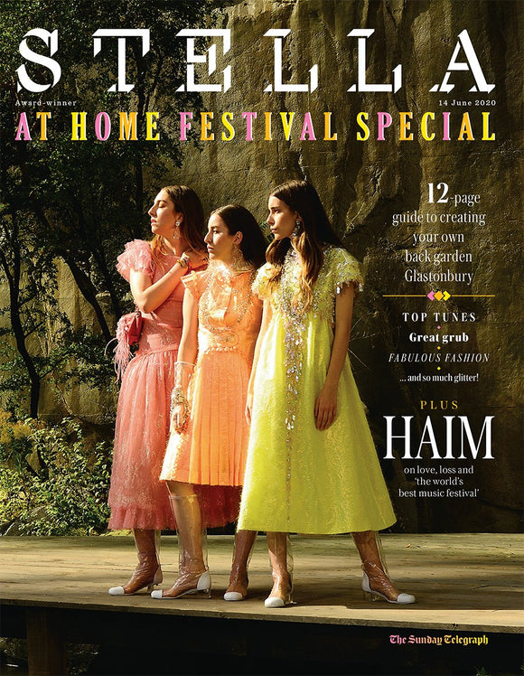 STELLA magazine 14 June 2020: HAIM COVER AND FEATURE