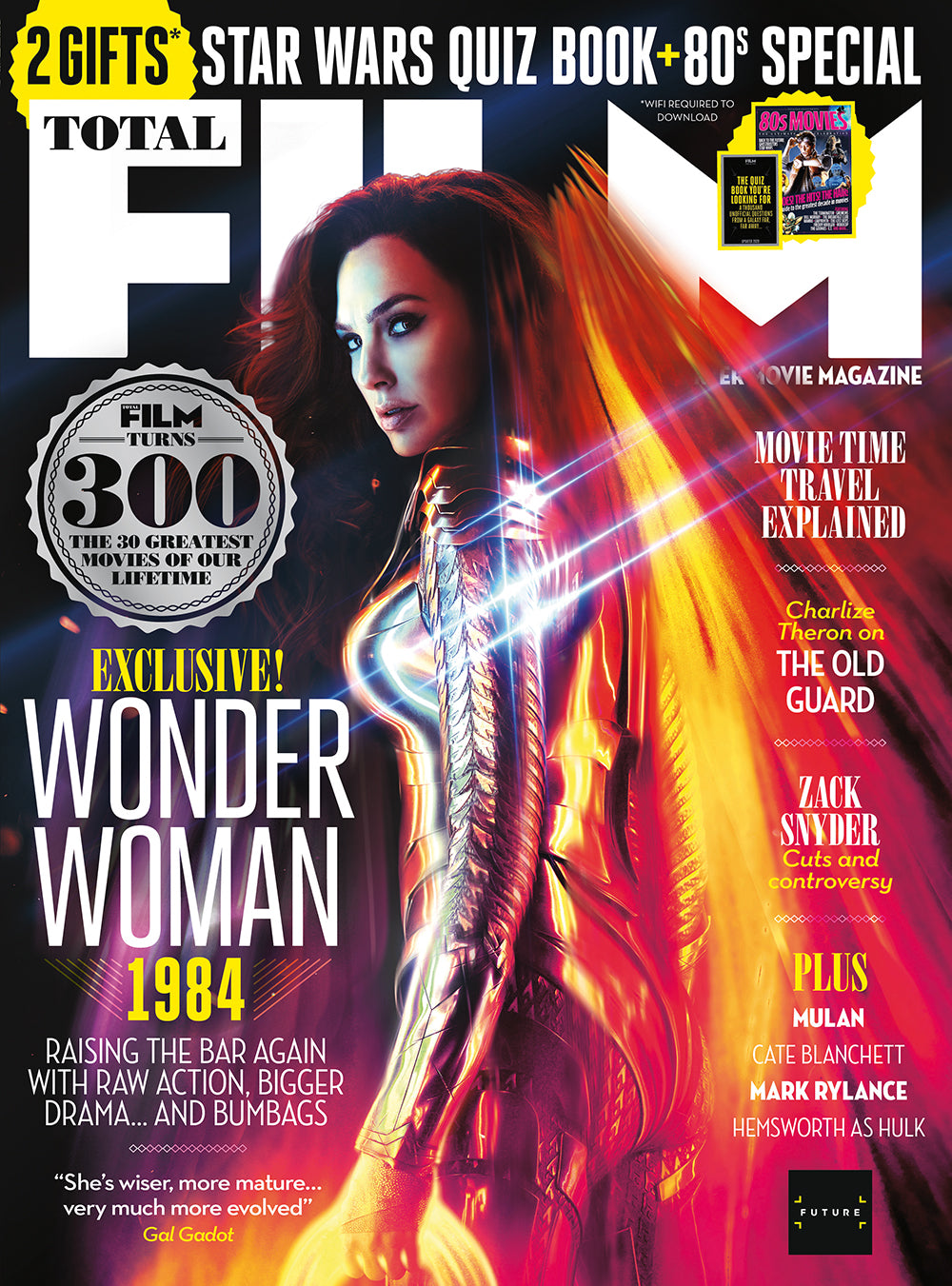 Total Film Magazine July 2020 GAL GADOT WONDER WOMAN 1984 PEDRO PASCAL