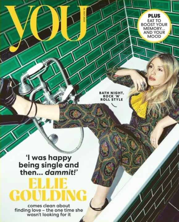YOU magazine 12th July 2020 Ellie Goulding cover and interview