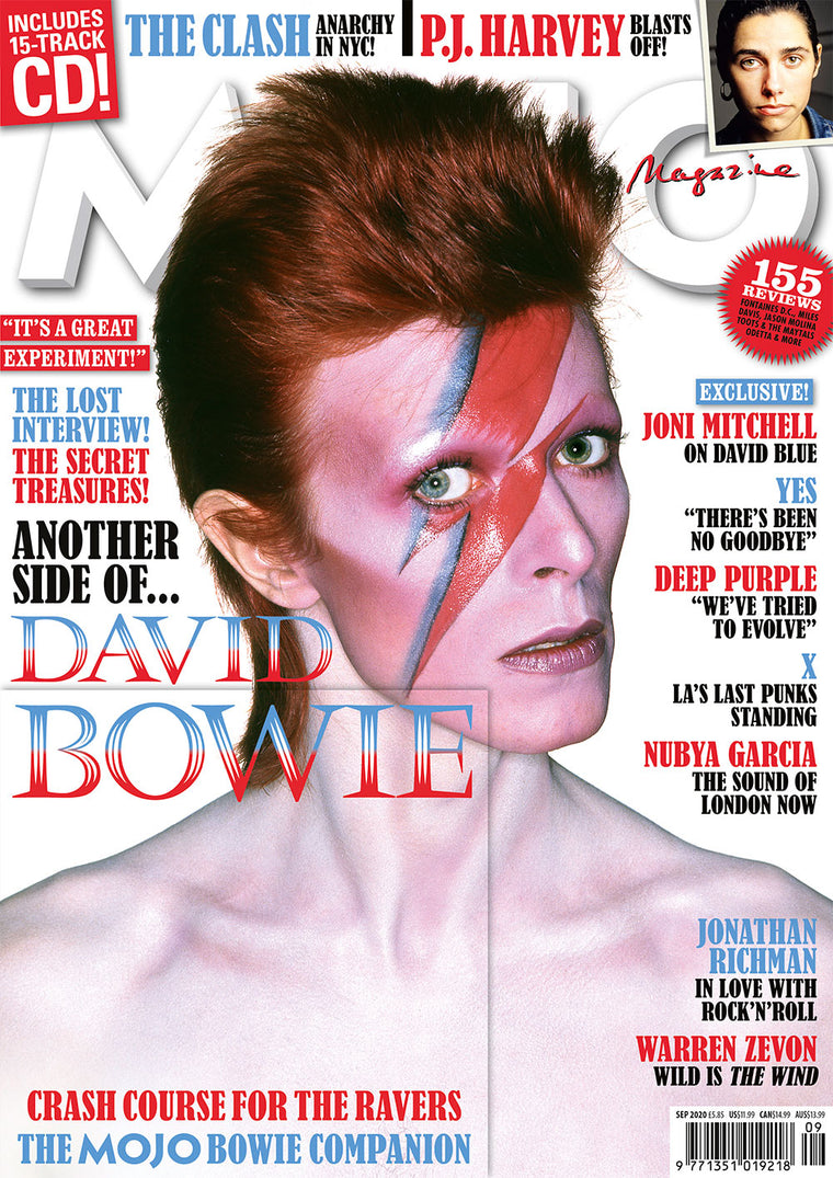 MOJO Magazine #322 – September 2020: David Bowie Exclusive & Free CD