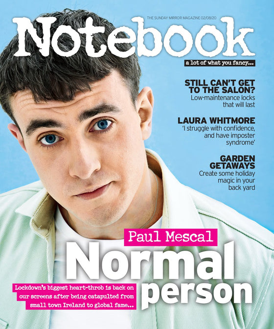 UK Notebook Magazine August 2020: Paul Mescal Normal People