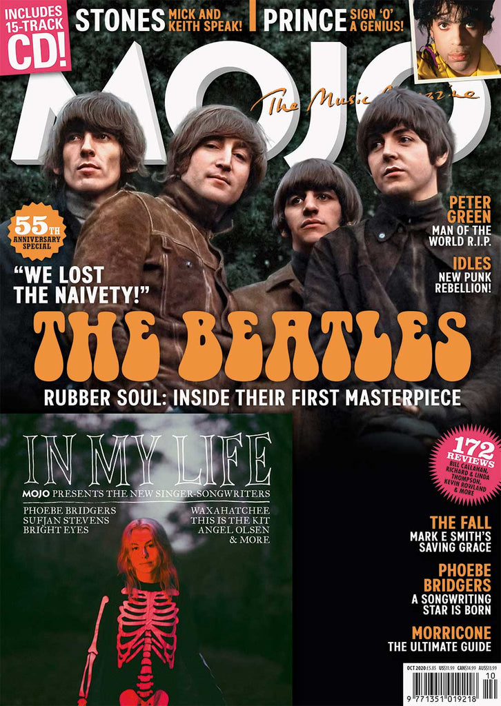 UK Mojo Magazine October 2020: THE BEATLES Paul McCartney John Lennon + FREE CD