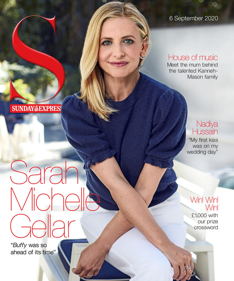 UK S Magazine September 2020: SARAH MICHELLE GELLAR Buffy The Vampire Slayer