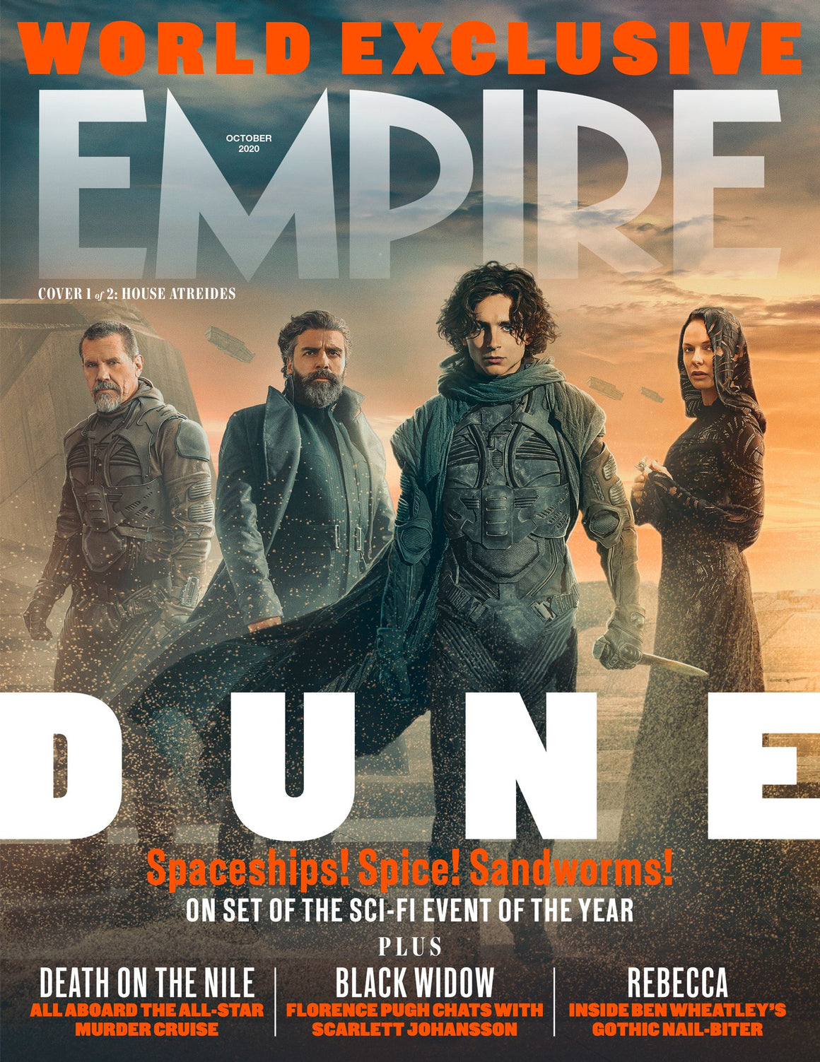 UK Empire Magazine October 2020 Dune Timothee Chalamet Exclusive
