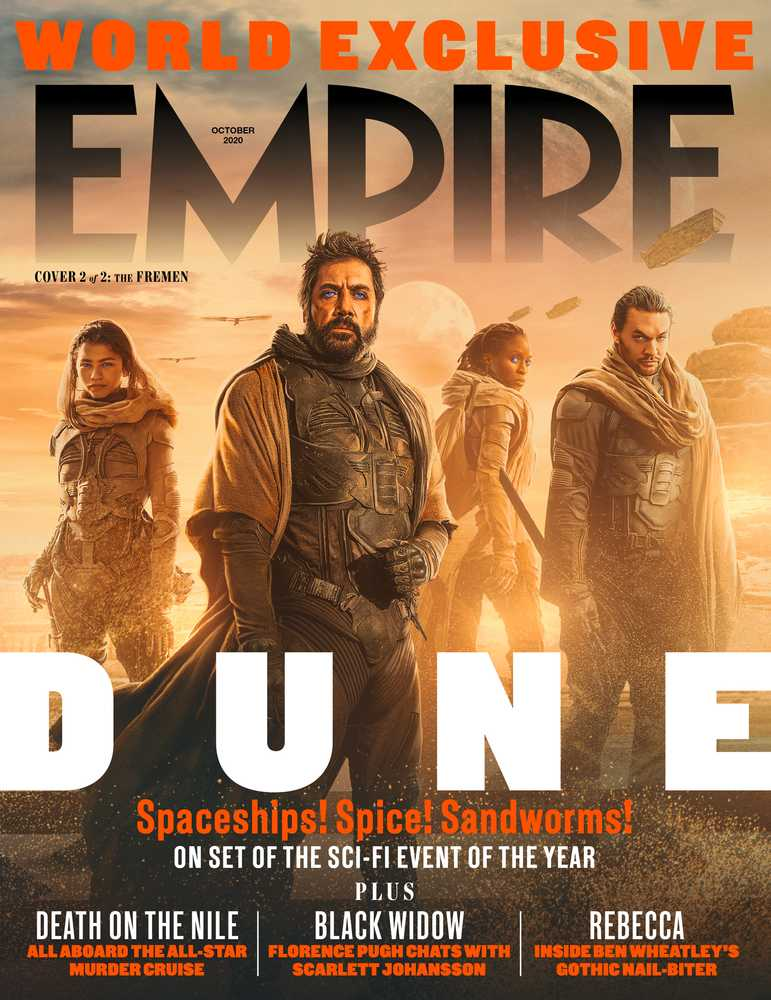 UK Empire Magazine October 2020 Dune Exclusive Timothee Chalamet Jason Momoa