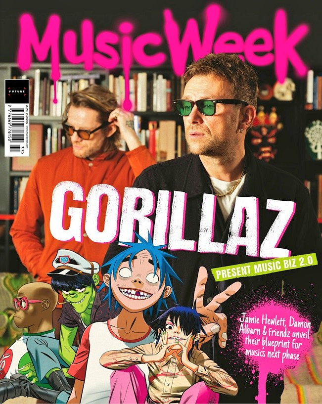 UK Music Week Magazine 15th September 2020 Gorillaz Damon Albarn