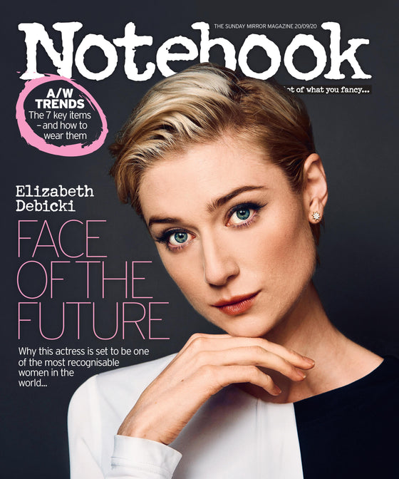 UK Notebook Magazine Sept 2020: Elizabeth Debicki The Crown Princess Diana