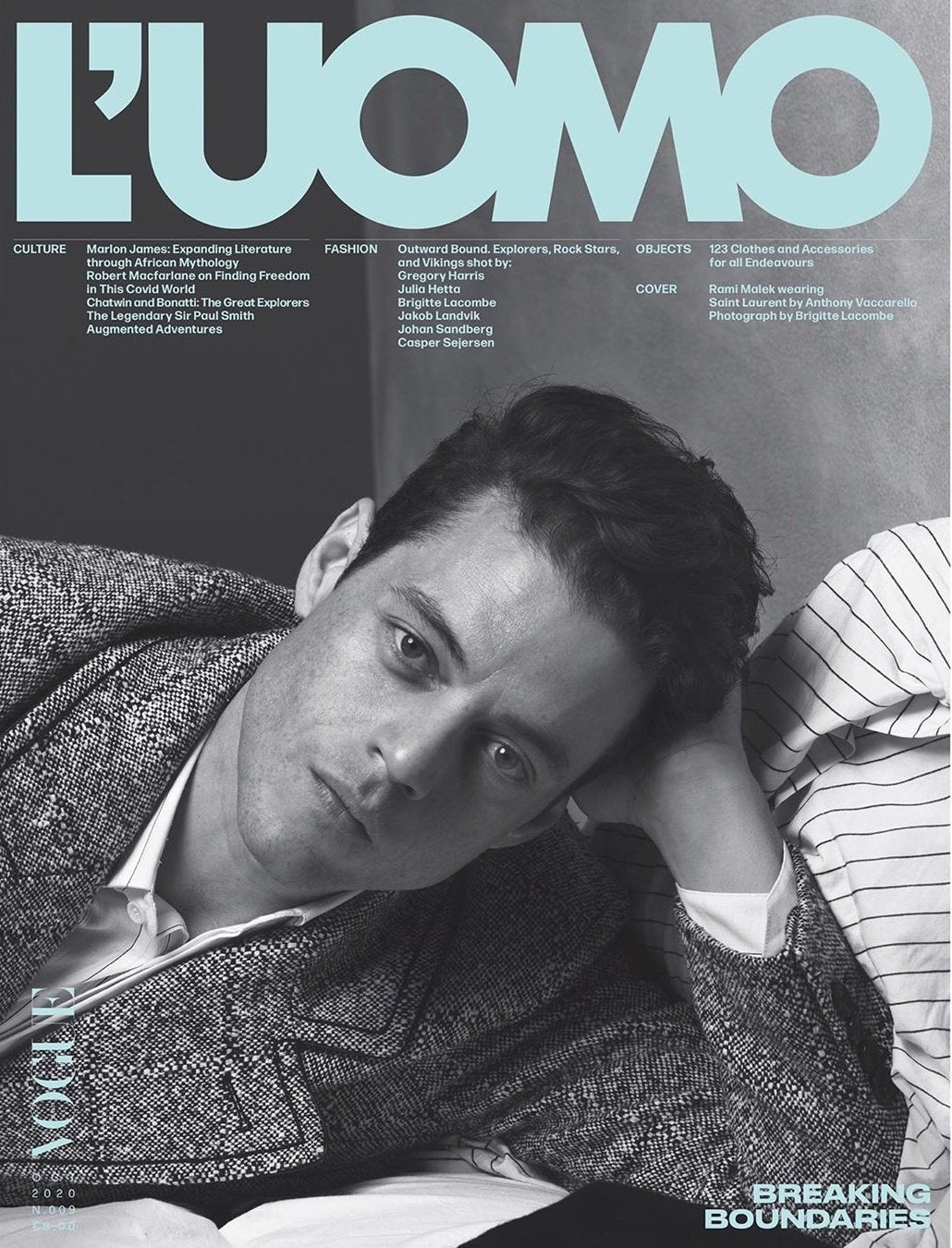 Rami Malek for L'Uomo Vogue - October 2020