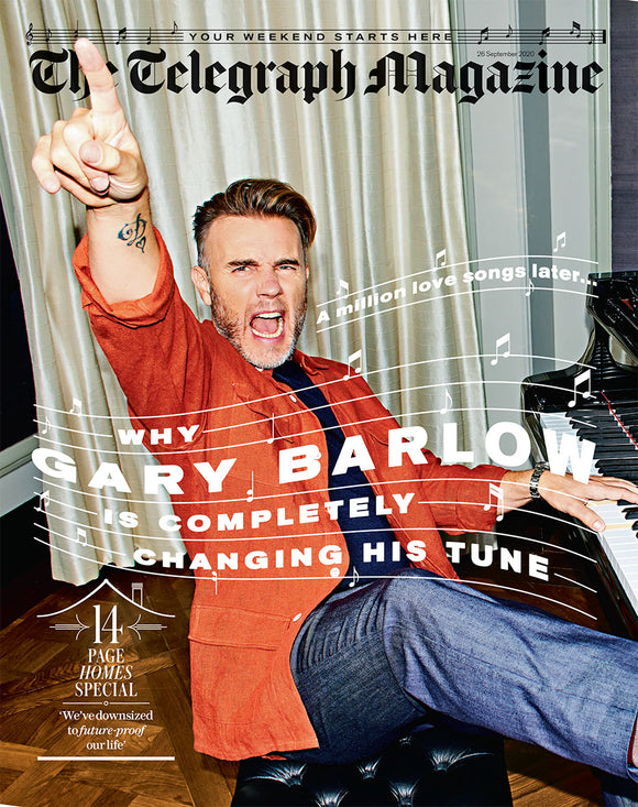 UK Telegraph Magazine September 2020: Gary Barlow Take That