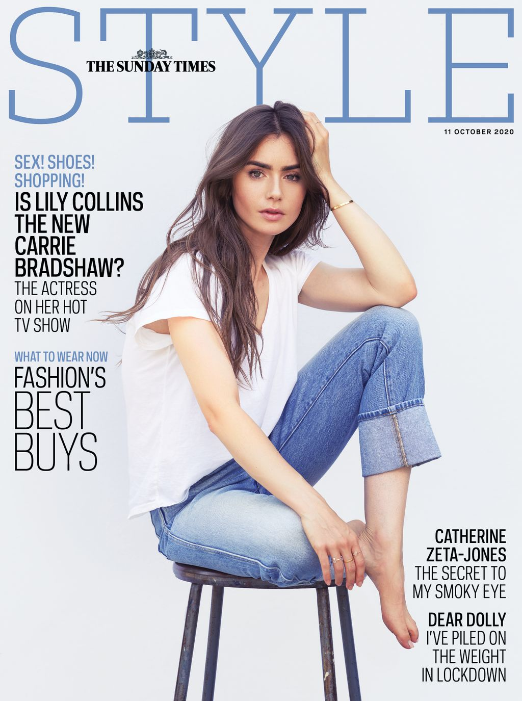 UK STYLE Magazine October 2020: LILY COLLINS COVER FEATURE