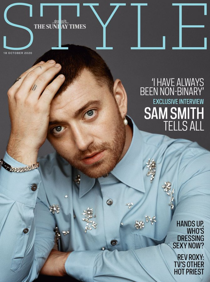 UK Style Magazine October 2020 SAM SMITH COVER INTERVIEW