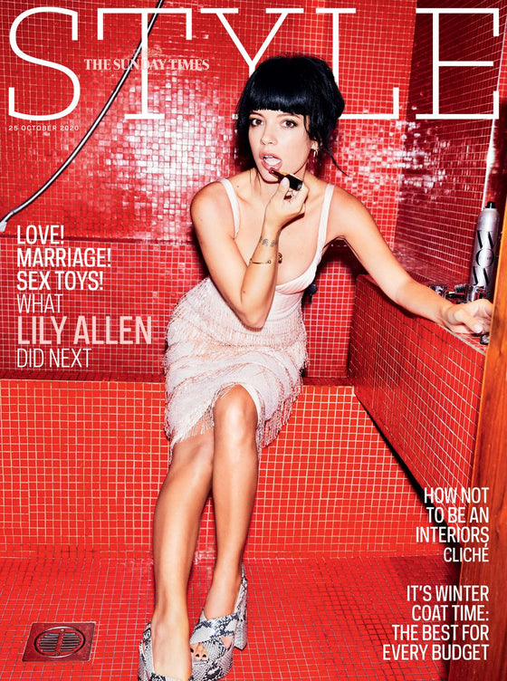 UK STYLE Magazine October 2020: LILY ALLEN COVER FEATURE