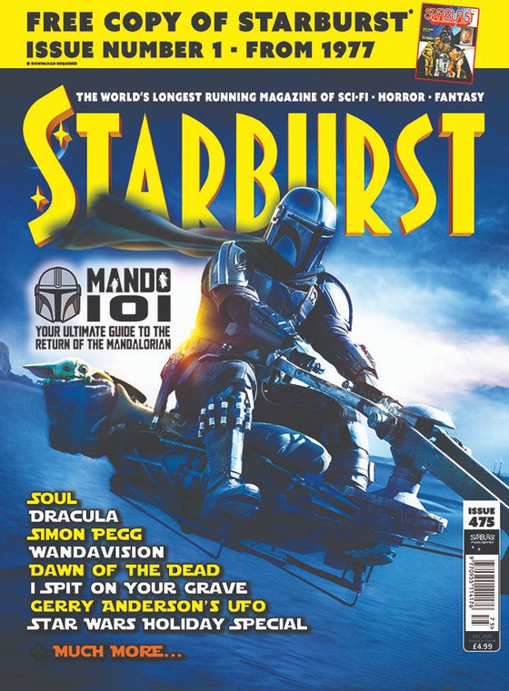 Starburst magazine #475 STAR WARS THE MANDALORIAN SEASON TWO PEDRO PASCAL