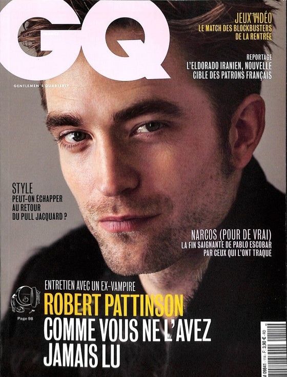 French GQ Magazine 114 2017 Robert Pattinson UK Cover Story Interview
