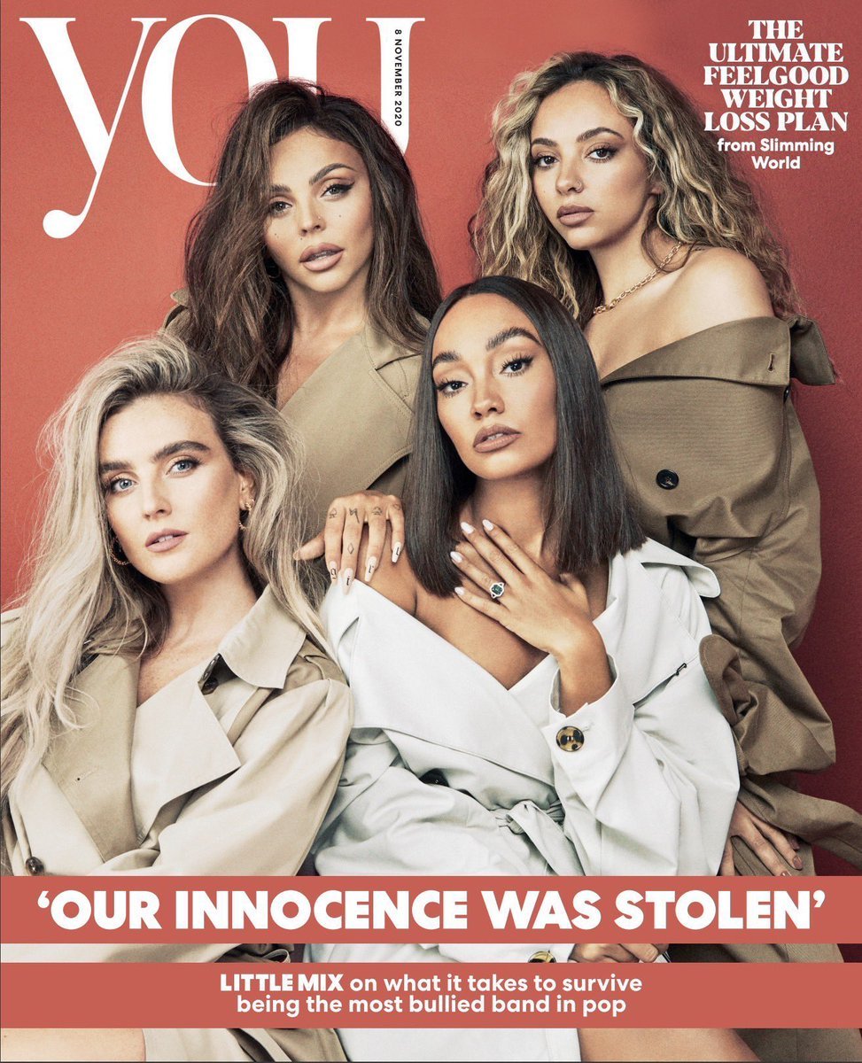 YOU MAGAZINE - 8th November 2020 - Little Mix Cover