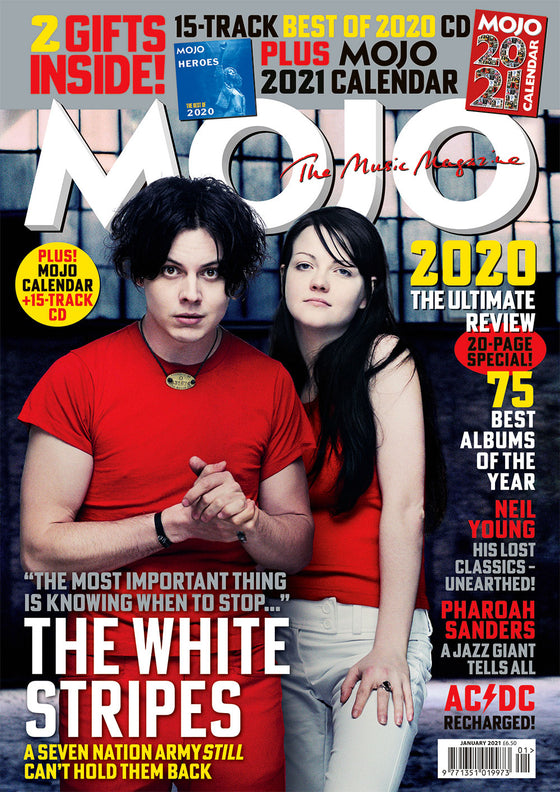 UK Mojo Magazine January 2021: JACK WHITE THE WHITE STRIPES WORLD EXCLUSIVE