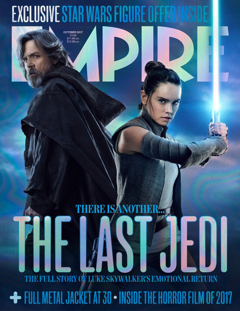 Empire Magazine October 2017 Star Wars: The Last Jedi Daisy Ridley & Mark Hamill