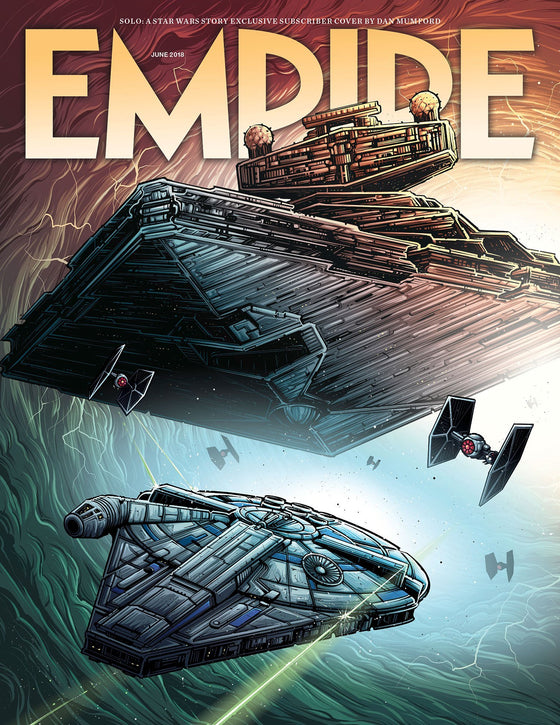 Empire Magazine June 2018: SOLO: A STAR WARS STORY Ltd Subscribers COVER