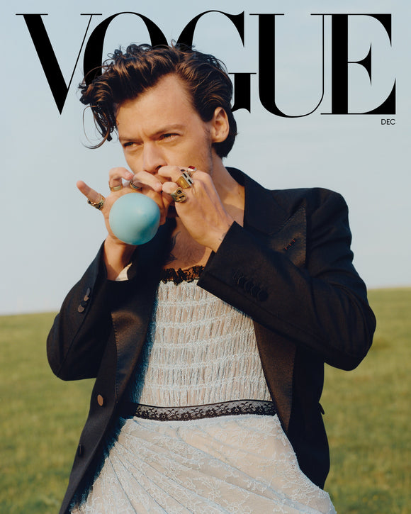 Vogue Usa Magazine December 2020 Harry Styles (Shipped from the USA)