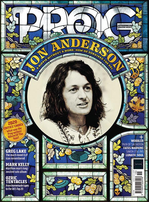 UK PROG Magazine December 2020: JON ANDERSON Yes GREG LAKE Marillion MARK KELLY