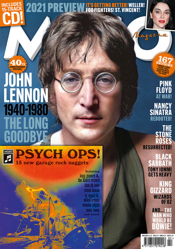 Mojo Magazine #327 February 2021 John Lennon The Beatles & Free CD