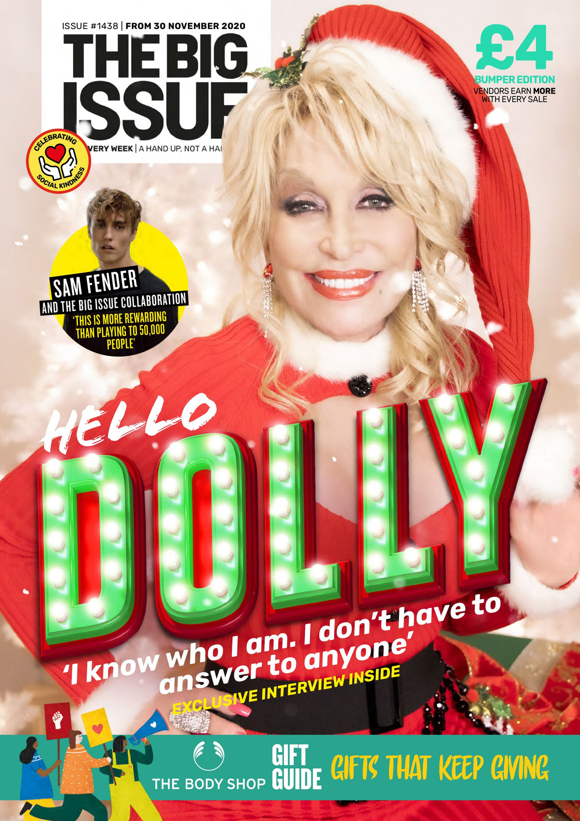 BIG ISSUE Magazine 1438 - DOLLY PARTON