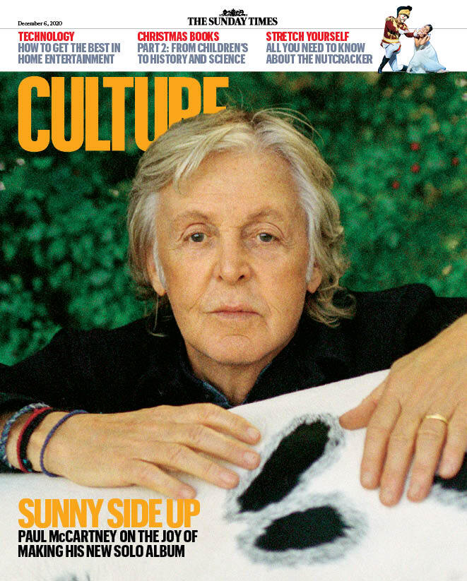 CULTURE magazine 6th December 2020 Sir Paul McCartney cover and interview