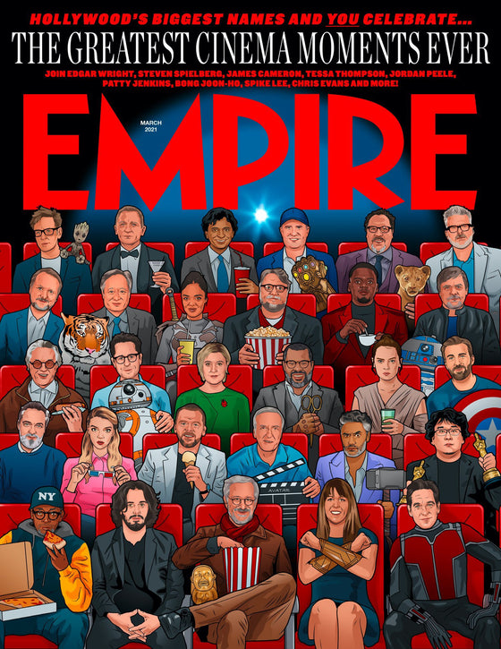 Empire Magazine March 2021: CHRIS EVANS Keanu Reeves DANIEL CRAIG Daisy Ridley