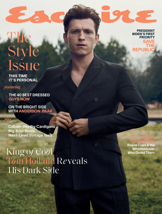 Tom Holland for US Esquire - March 2021 - NOW IN STOCK
