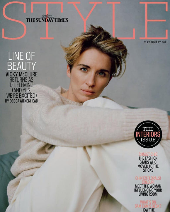UK Style Magazine February 2021 VICKY McCLURE COVER FEATURE