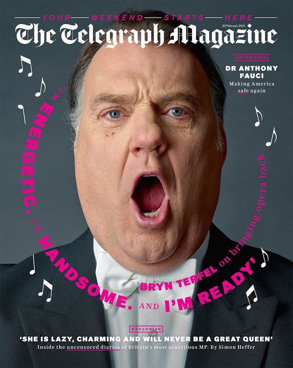 UK Telegraph Magazine February 2021 BRYN TERFEL COVER FEATURE Take That