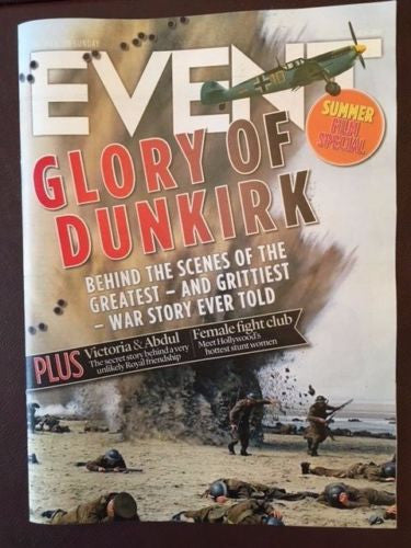 UK Event Magazine July 23rd 2017 Dunkirk Harry Styles Judi Dench Dave Stewart