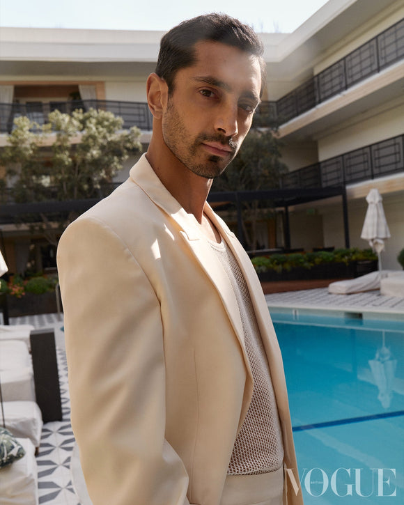 British Vogue Magazine April 2021: Tom Holland Riz Ahmed Zendaya