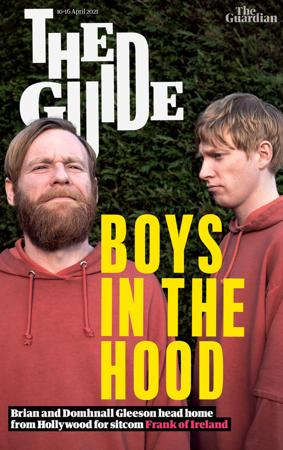 GUARDIAN GUIDE MAGAZINE - 10th April 2021 - Domhnall Gleeson & Brian Cover