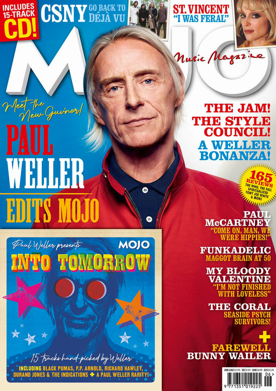 UK Mojo Magazine June 2021 PAUL WELLER Guest Edits - PAUL McCARTNEY