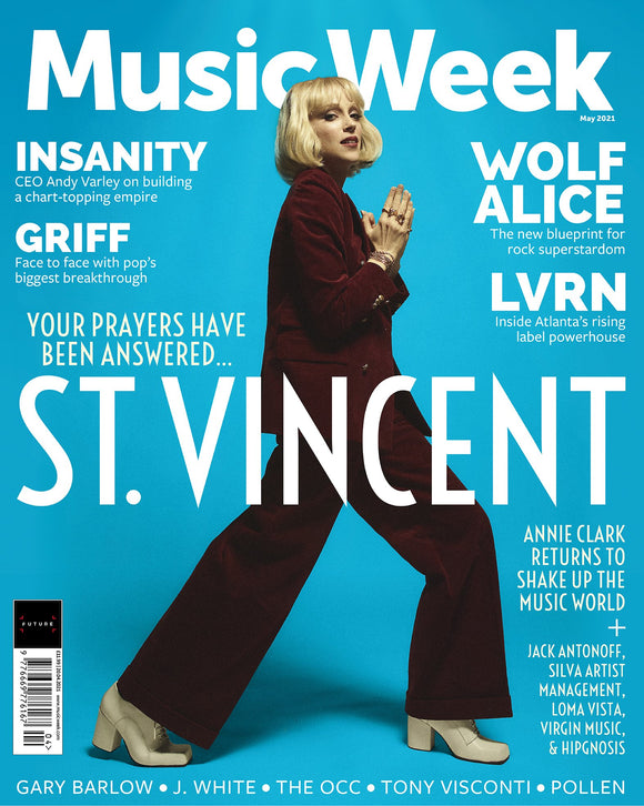 Music Week Magazine May 2021 #ST VINCENT