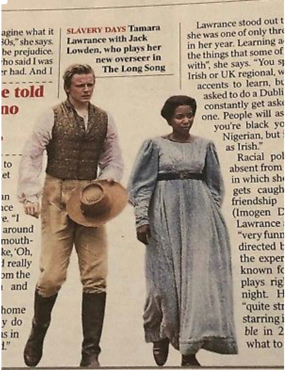 UK Times Review December 2018: Tamara Lawrance Jack Lowden Cliff Richard