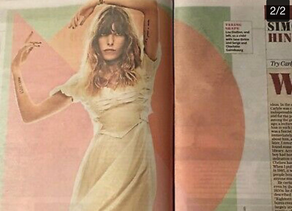 UK Telegraph Review February 2019: RAMI MALEK Lou Doillon DIANA ATHILL
