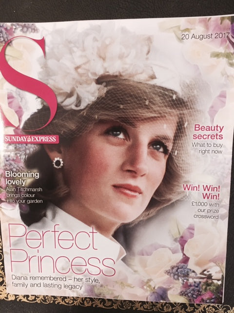 UK S Express magazine 20 August 2017 - Princess Diana remembered 20 Years On