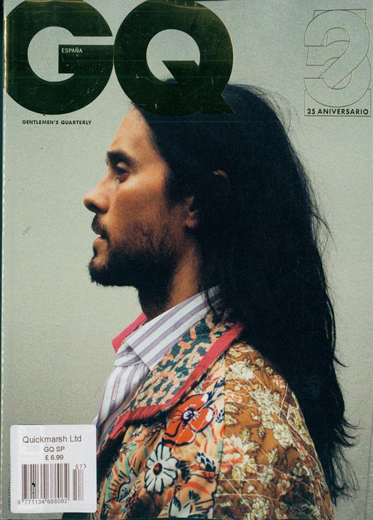 Spanish GQ September 2019: JARED LETO COVER & FEATURE 30 Seconds To Mars