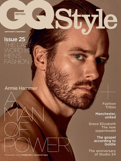 Armie Hammer for GQ Style Magazine