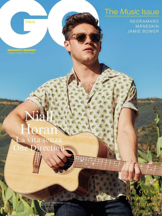 GQ Italia Magazine May 2018 NIALL HORAN One Direction JAMIE BOWER Patrick Gibson