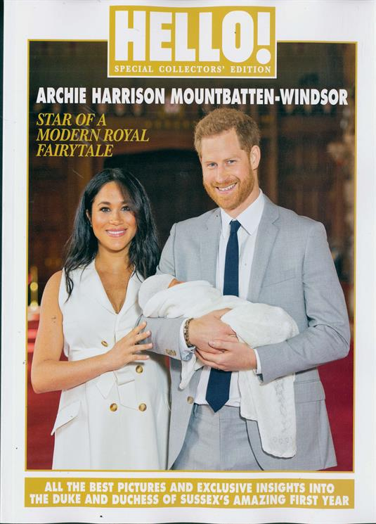 HELLO! magazine Special Collectors Edition - Meghan Markle & Harry & Royal Baby Archie
