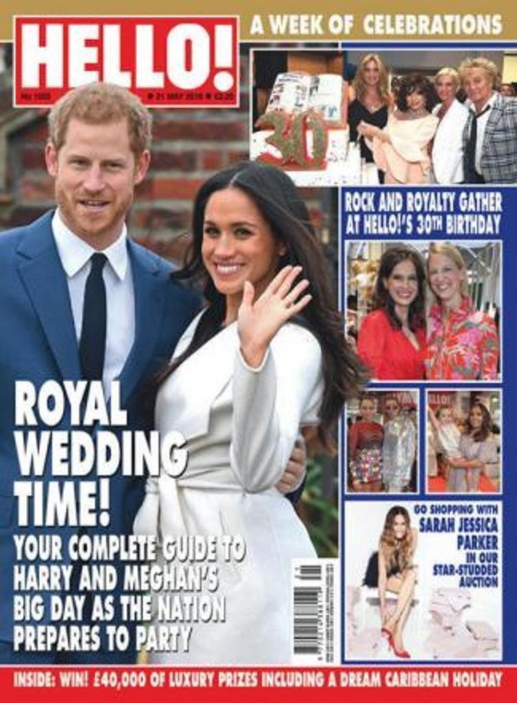 HELLO! magazine 21 May 2018 Prince Harry & Meghan Markle Royal Wedding Special