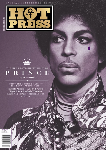 HOT PRESS Magazine April 2016 Prince - The Life & Outrageous Times