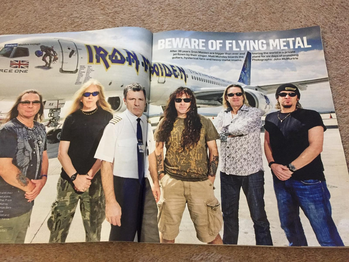 The Sunday Times magazine - Iron Maiden Interview (15th May 2011)