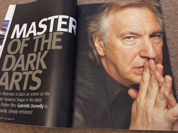 UK Saga Magazine July 2009 Alan Rickman