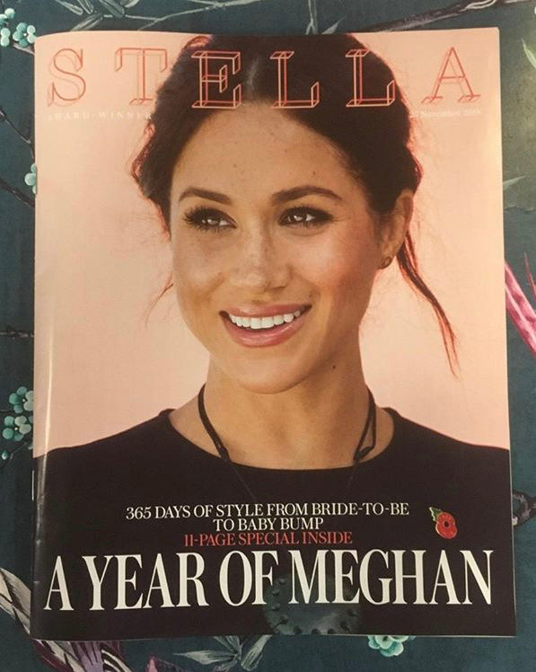 UK Stella Magazine November 2018: MEGHAN MARKLE COVER AND FEATURE