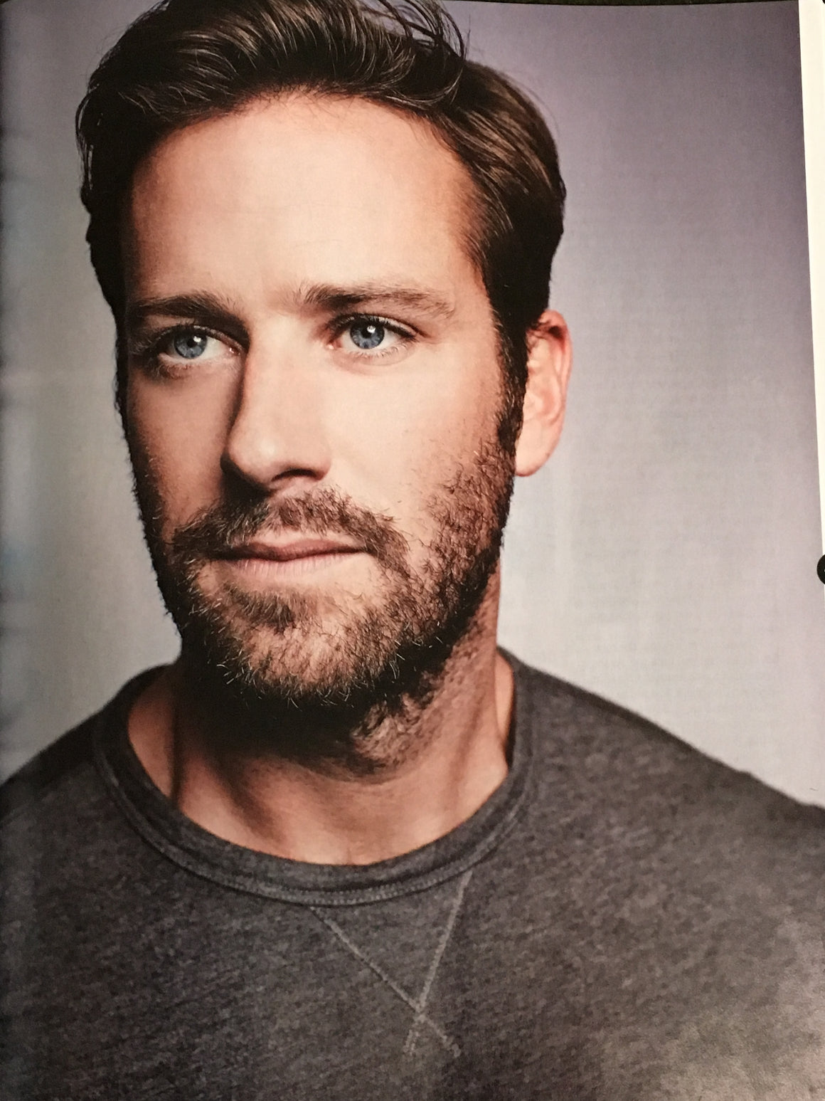 British Total Film Magazine January 2019 Armie Hammer Steve Carell Alexander Skarsgard