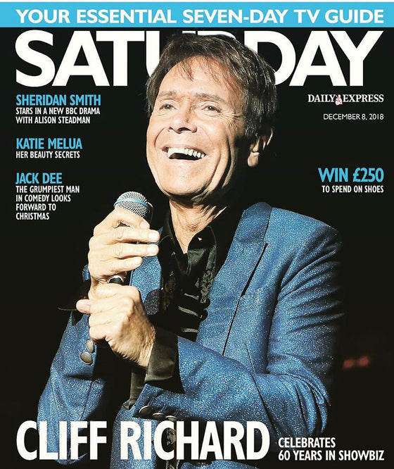 UK Saturday Express Magazine December 2018 Cliff Richard Cover